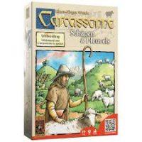 schapen en heuvels